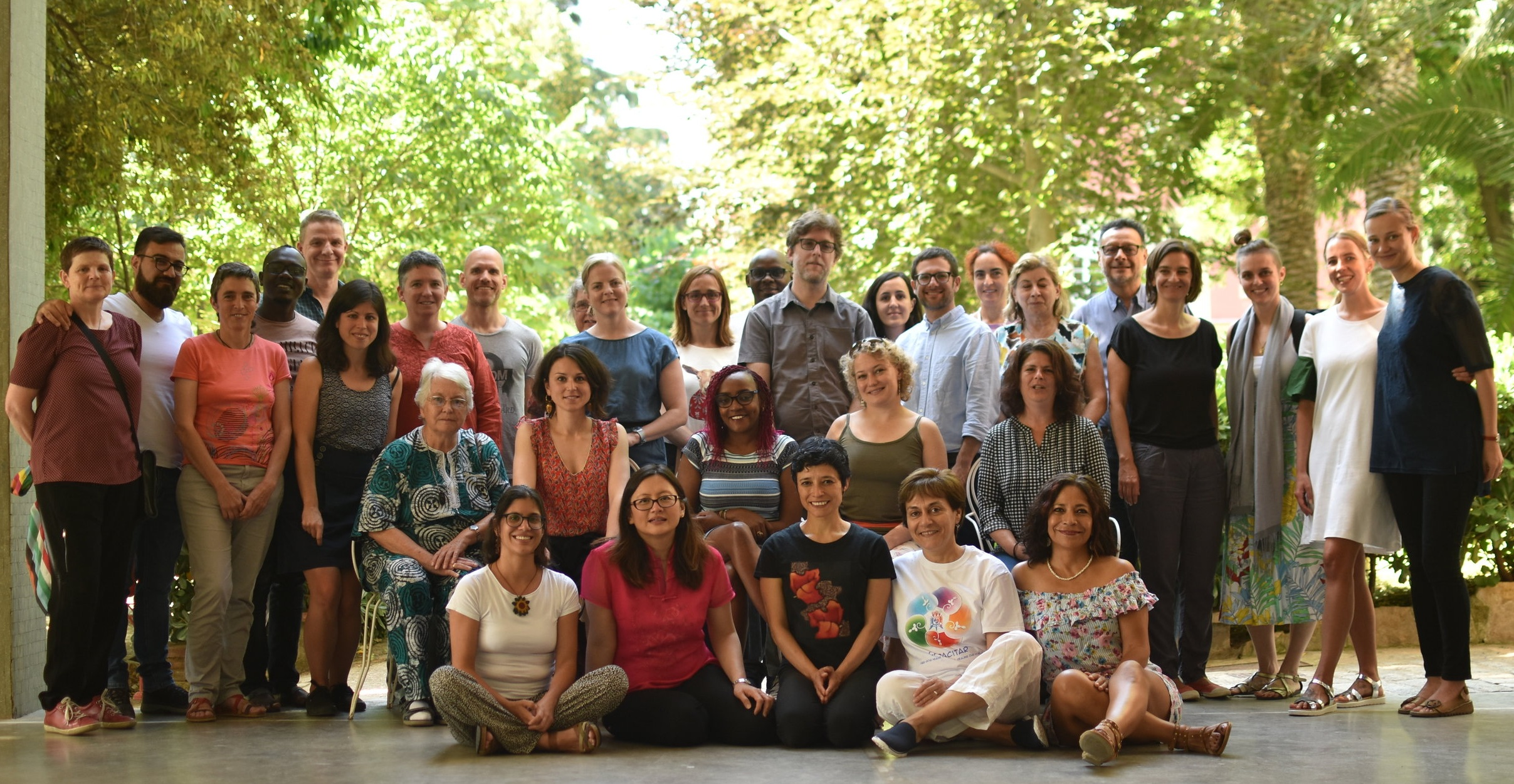 Some participants at the Barcelona Retreat, June 2019