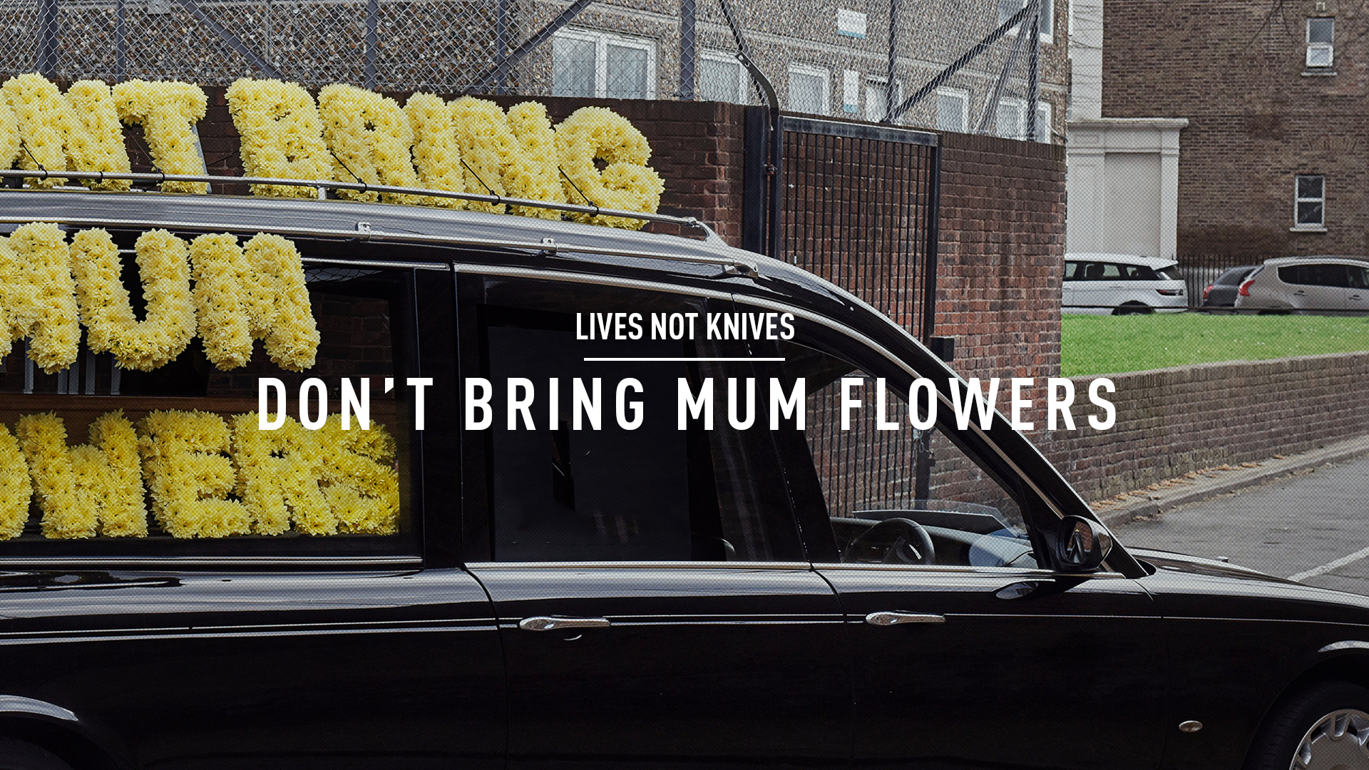 lives not knives dont bring your mum flowers the gate london.jpg