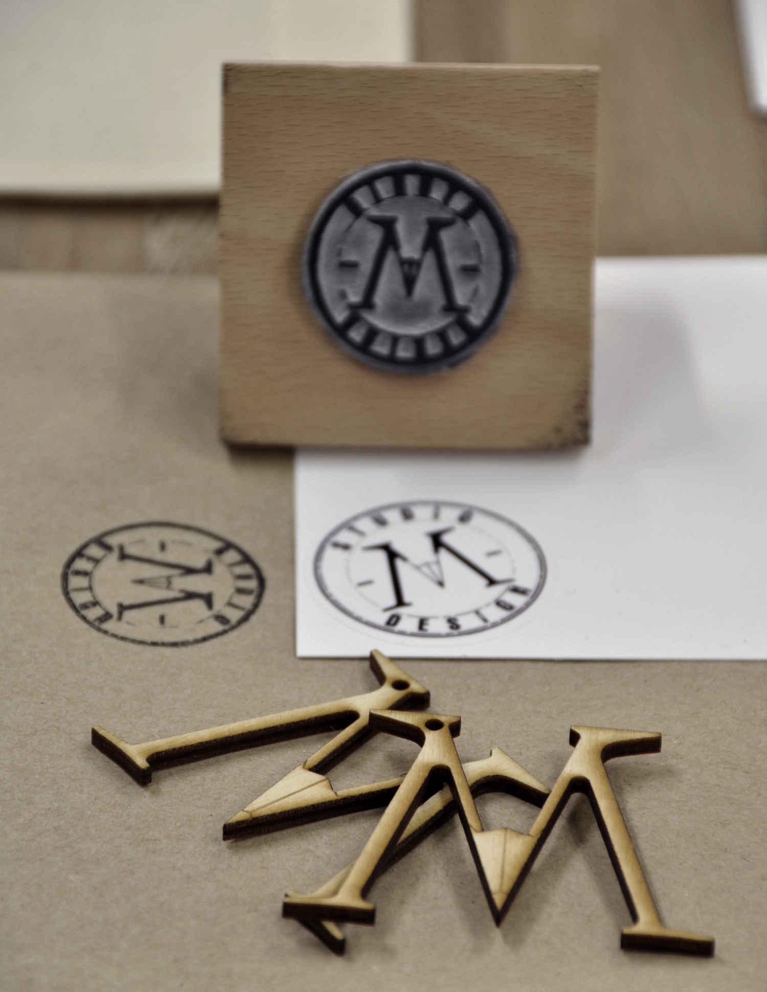 Studio-M Design branding