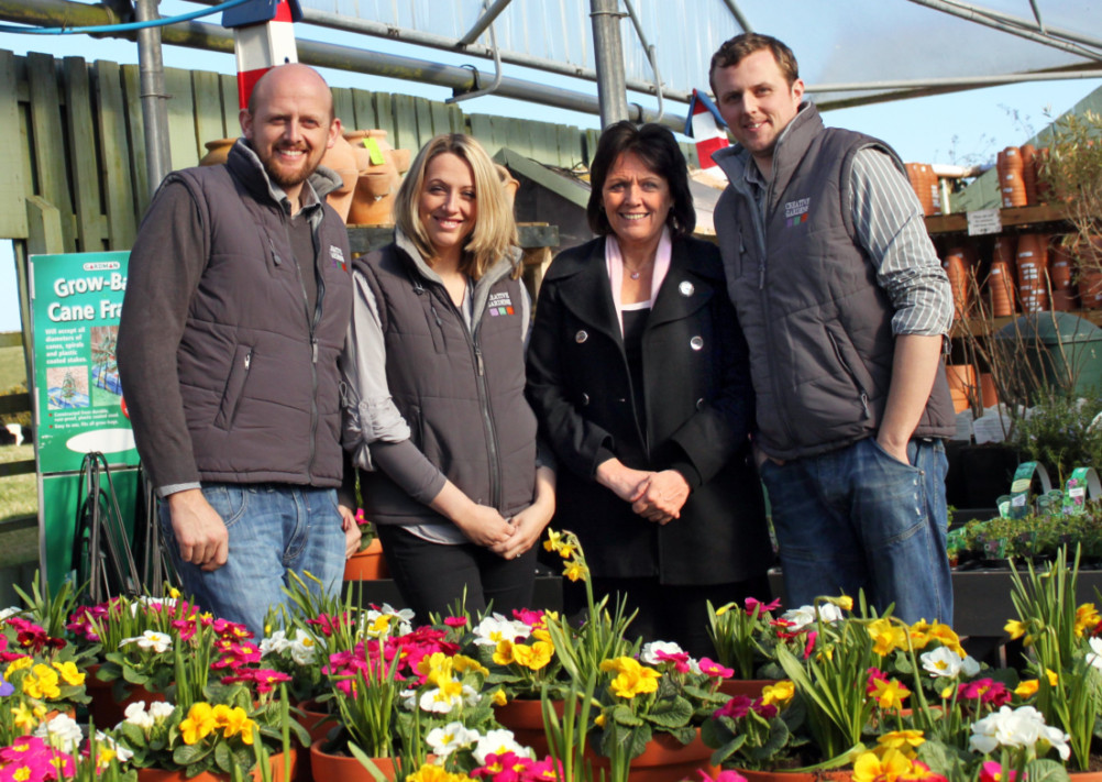 The Gass family will be opening the new 32,000 sq ft garden centre and cafe at Galgorm in the coming weeks, where it will employ 60 full and part time staff, with roles including horticultural experts, chefs, bakers and part time students.