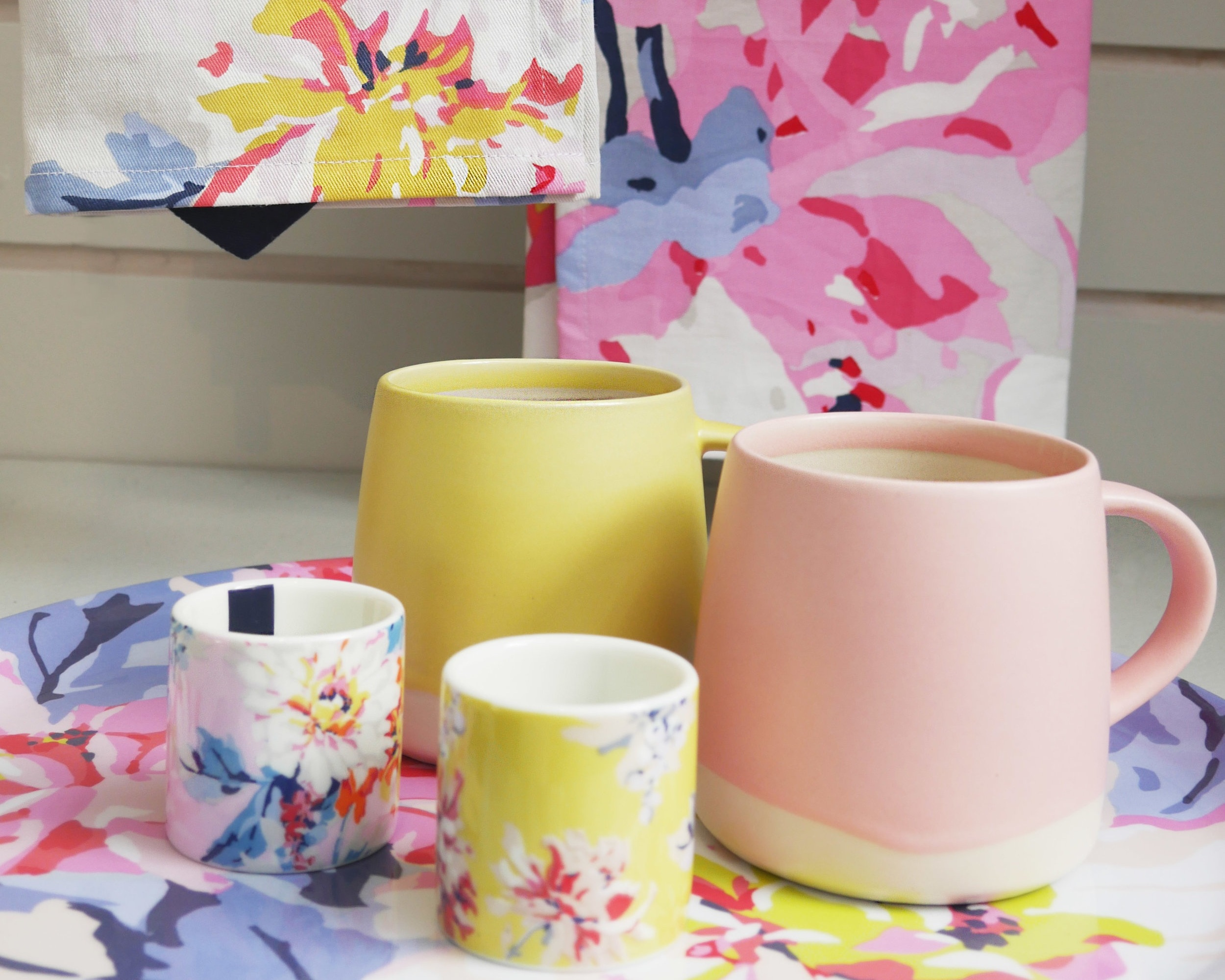 Bring the sunshine indoors - Bring the sunshine indoors with some of our gorgeous Joules homeware!