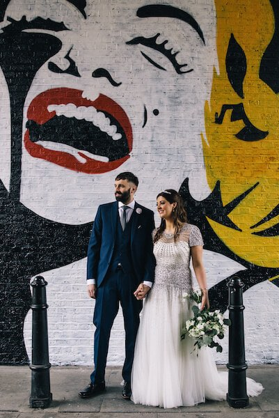 Shoreditch Studios wedding Ecletion photography