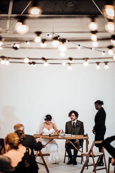 Shoreditch Studios wedding featured on Rock My Wedding