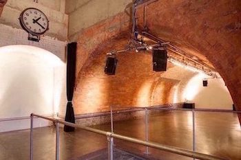 Kachette is a popular Shoreditch event and party venue located under the railway bridge on Old Street.