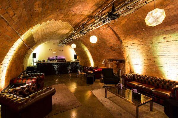 railway arch drinks reception venue
