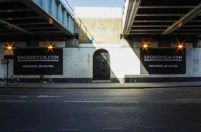 Old Street Shoreditch railway arch venue Kachette