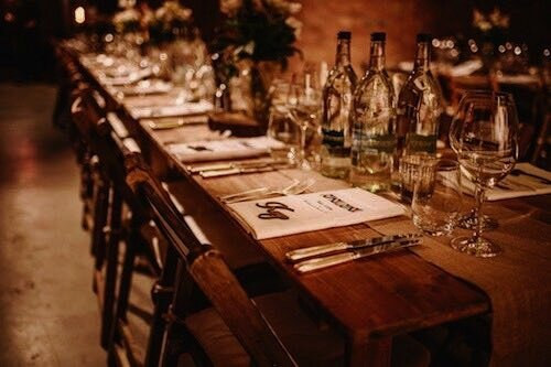 Budget Saving Tip #2Half of your wedding expenses go to wining and dining your guests. If catering is costing you £80 to £100 per person, removing one table of 10 can save you £800 to £1,000. -