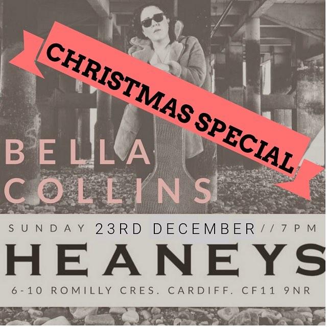 CHRISTMAS SPECIAL at @heaneyscardiff tomorrow night 23/12/18. 7pm, get down!! #cardifflifemagazine #cardiffrestaurant #cardiffdrinks #cardiff #acoustic #livemusic #cocktails #pontcannalife #pontcanna #pontcannacardiff #canton