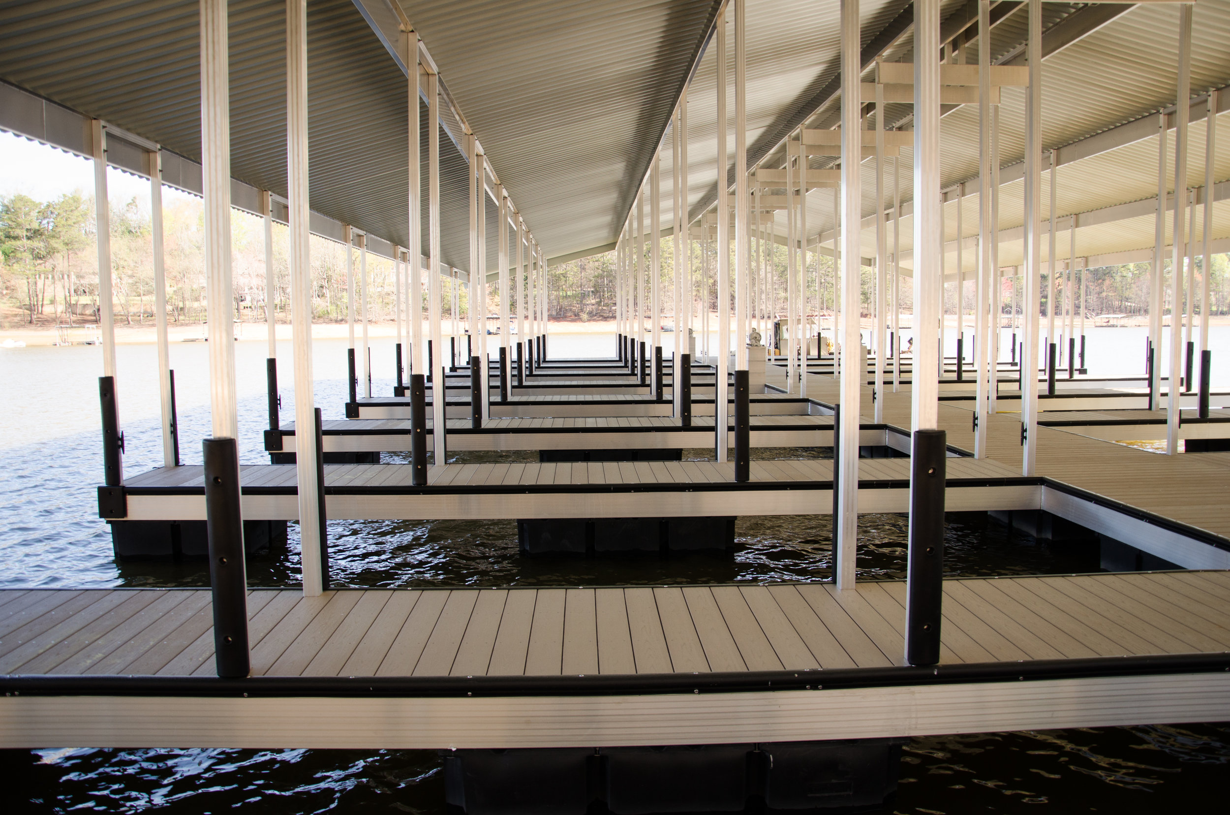 Multi-Slip Community dock