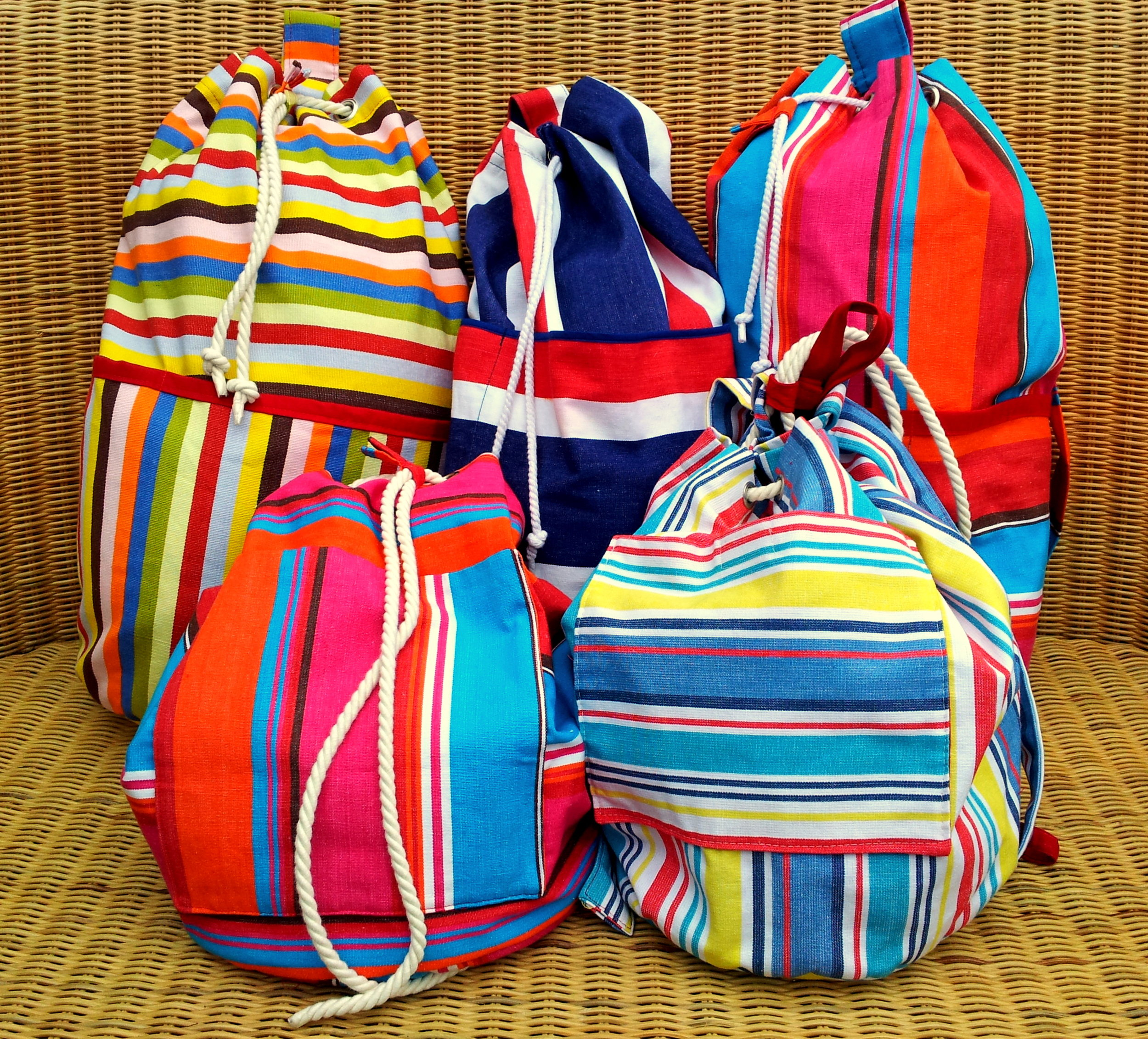 Hazydaze duffle bags are practical and look great. We have two sizes available.