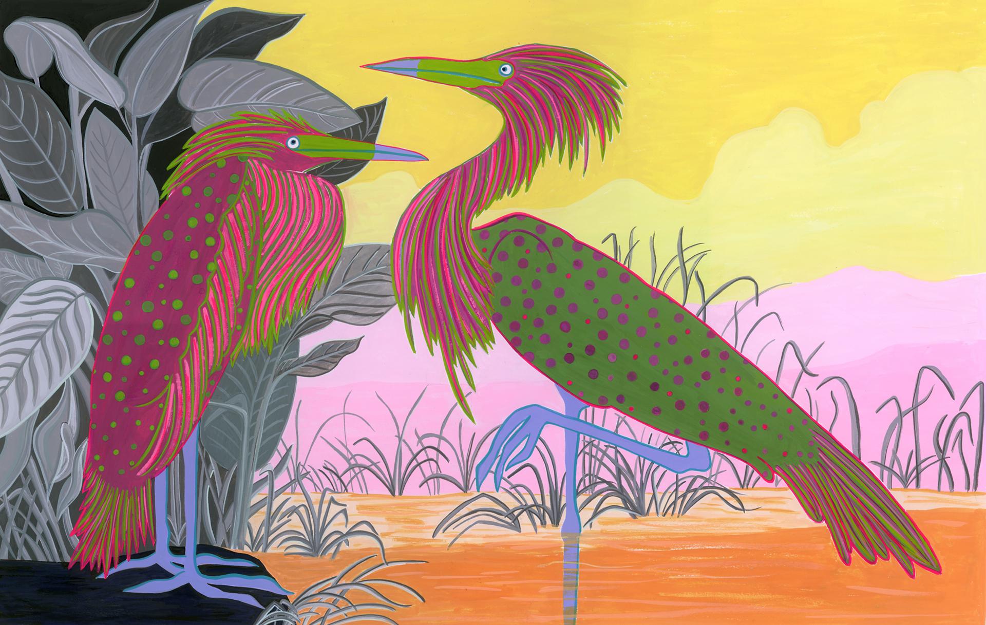 Audubon Series, Red Heron