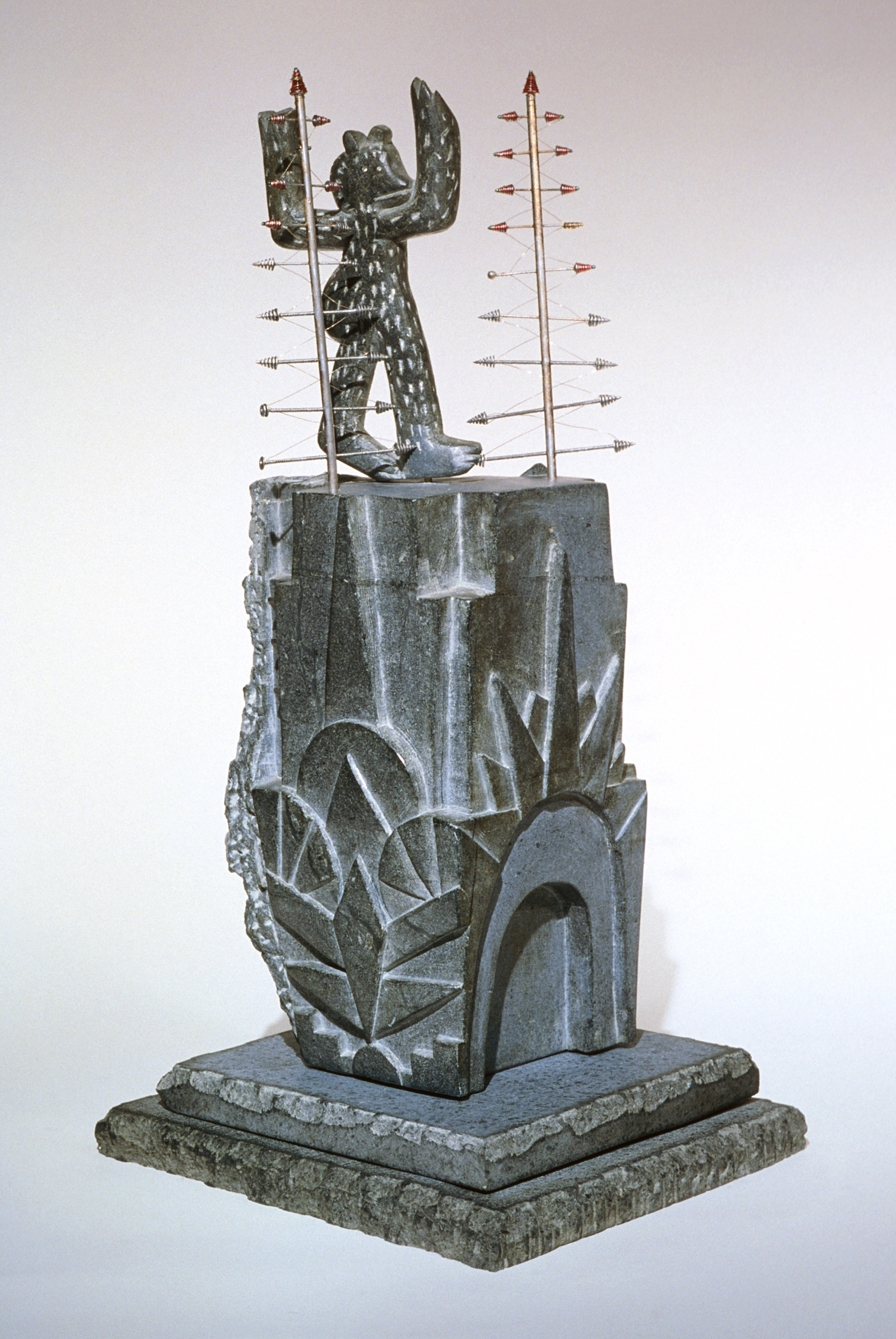King Kong takes the Chrysler Building