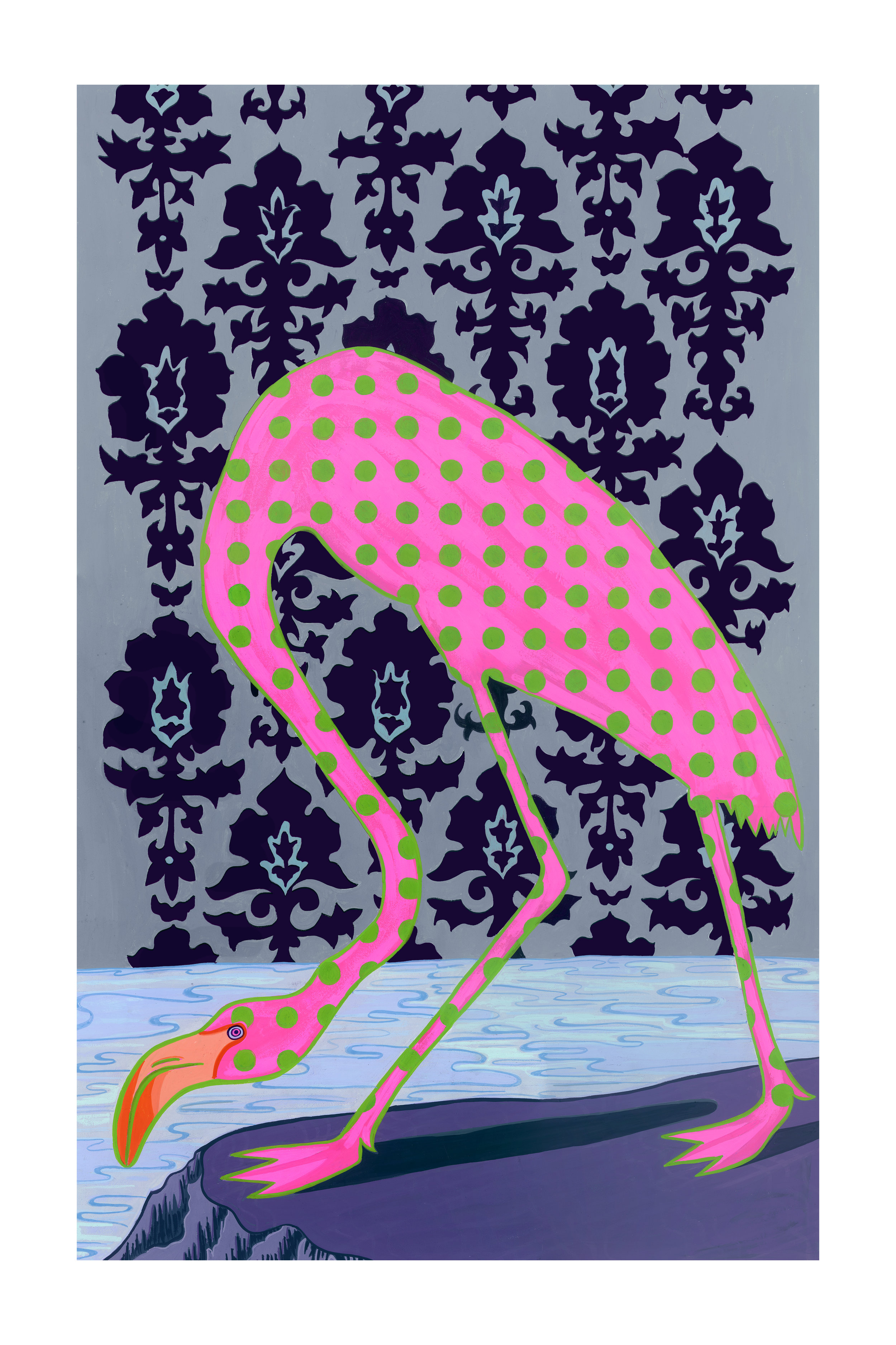 Beyond Audubon, Flamingo