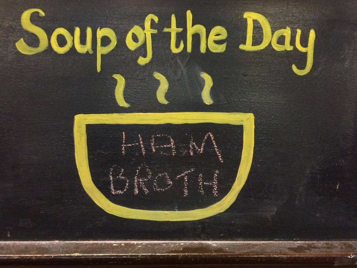 A different fresh soup each week