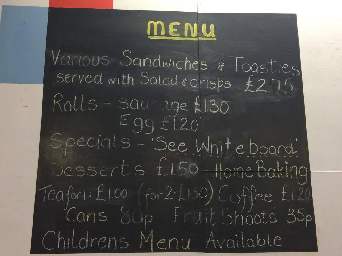 Some menu choices