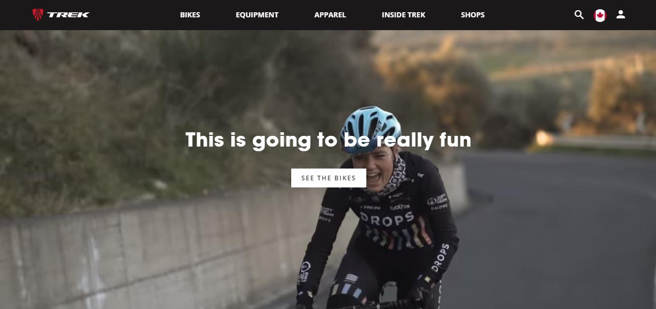 Trek homepage
