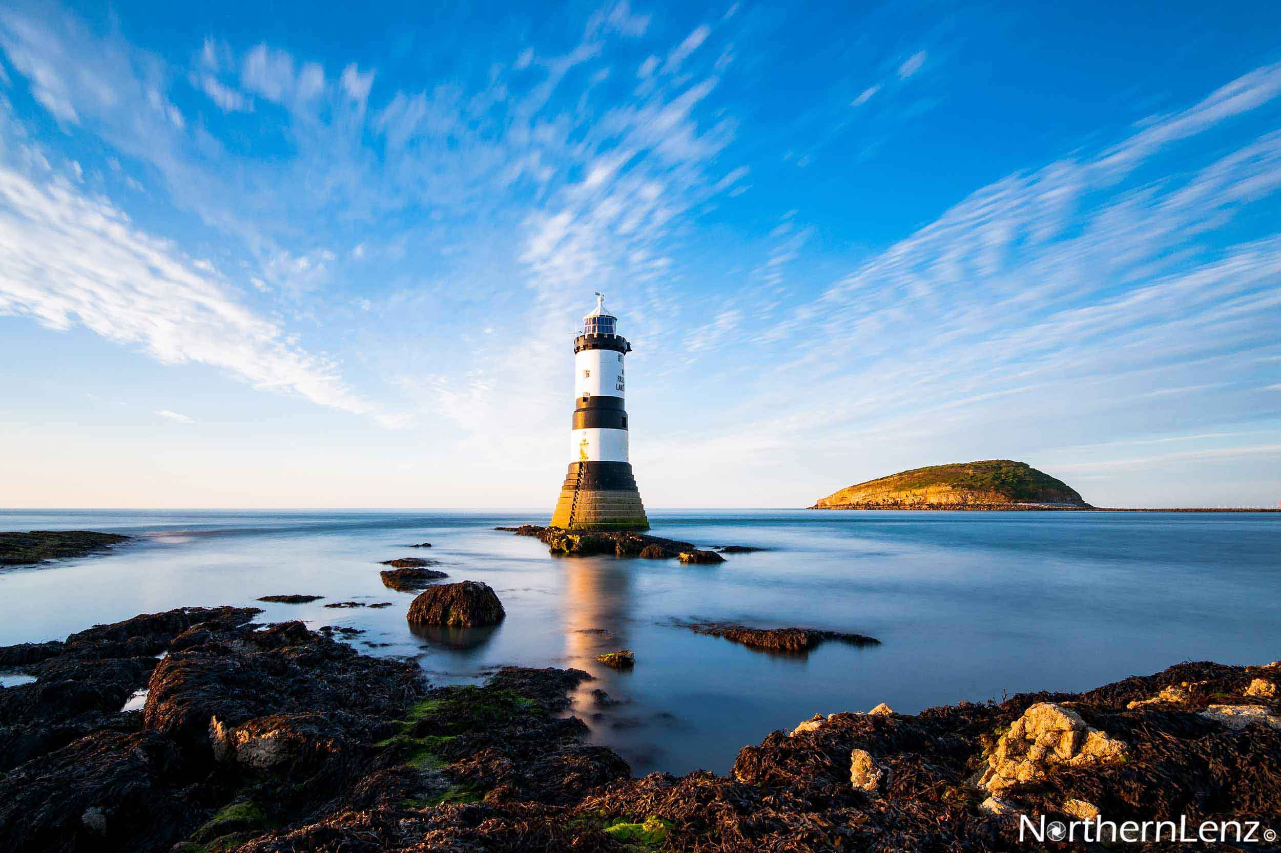 Trwyn Du Lighthouse in all its glory  Image Ref: CC02