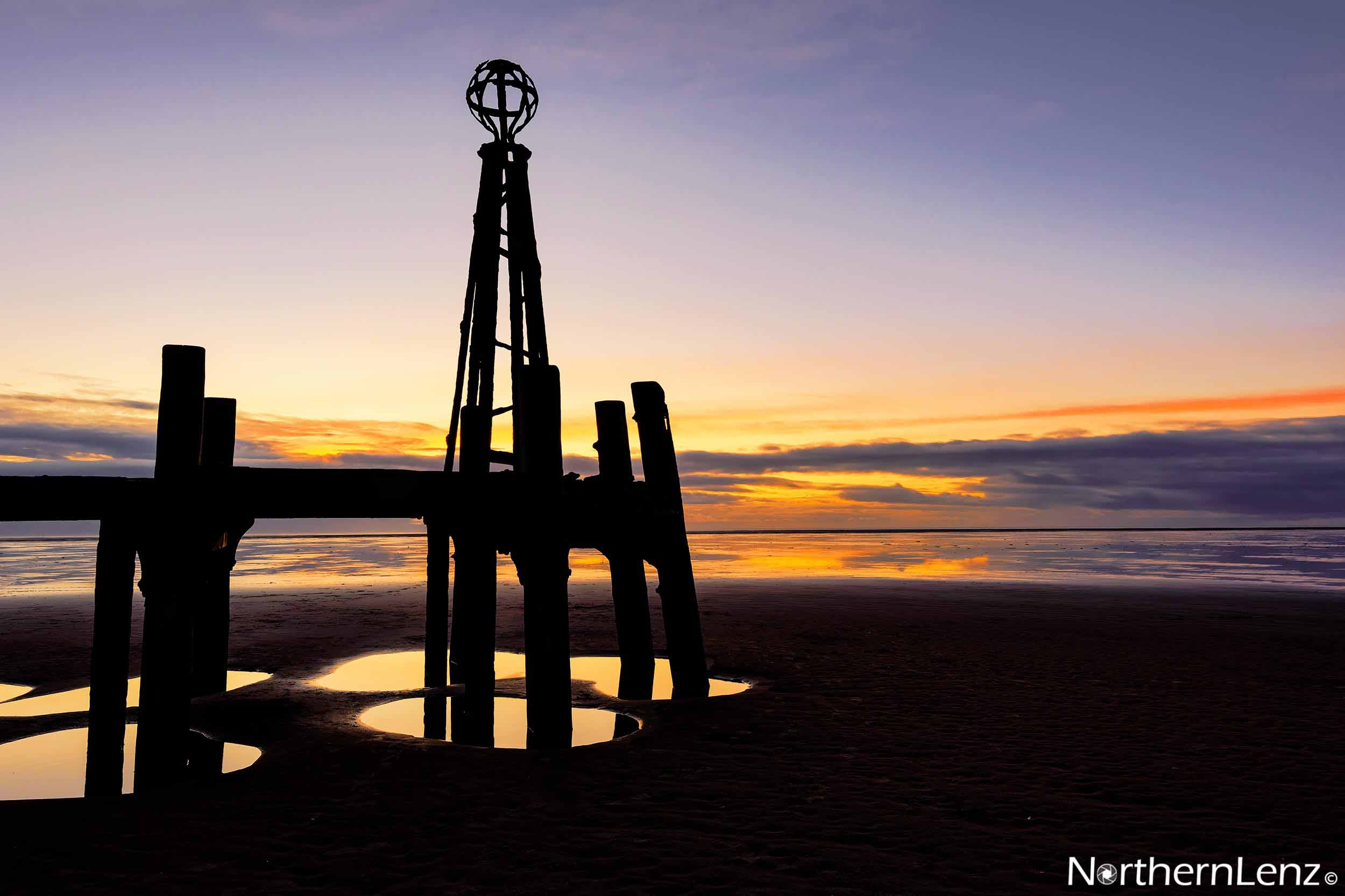 St Anne's Pier landing jetty, Lytham St Annes  Image Ref: CC01