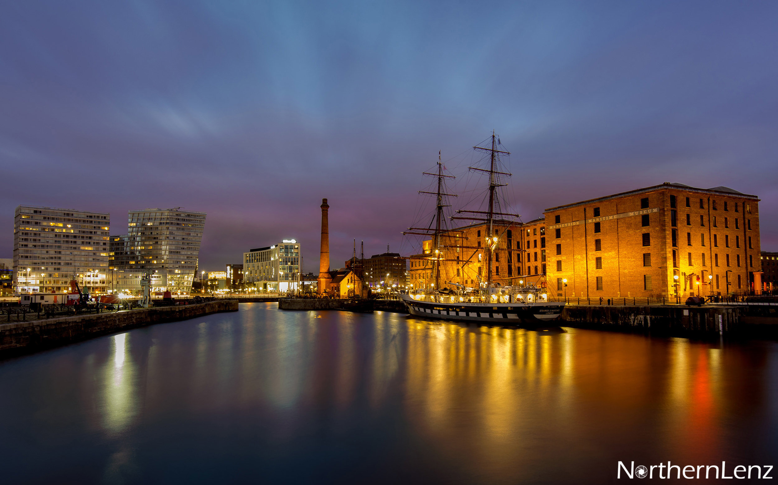 Tall ship at Canning Dock, Liverpool  Image Ref: UA07
