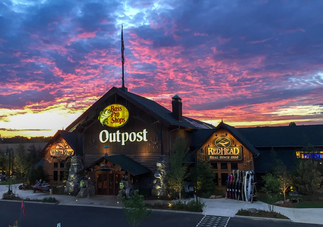 """We worked for years to find a home for Bass Pro Shops in Chattanooga, until we met Healy & Co. Now we're proud to be a part of one of America's great outdoor cities.""   — John L. Morris, Founder  