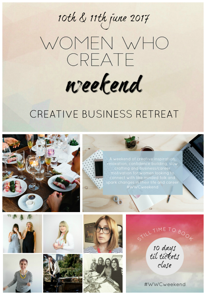 women who create weekend event ticket count down