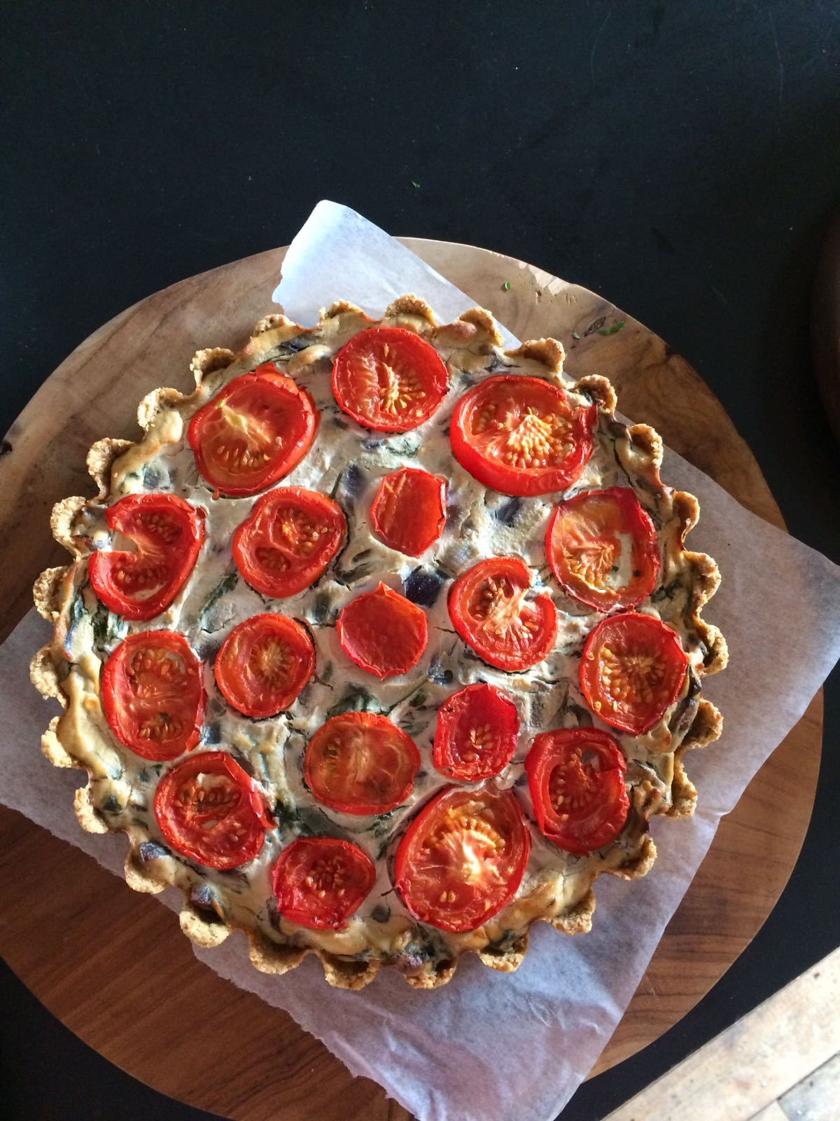vegan quiche by planted