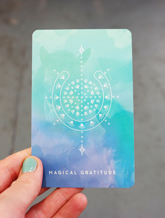 magical gratitude with tarot cards at our Brighton creative business weekend event