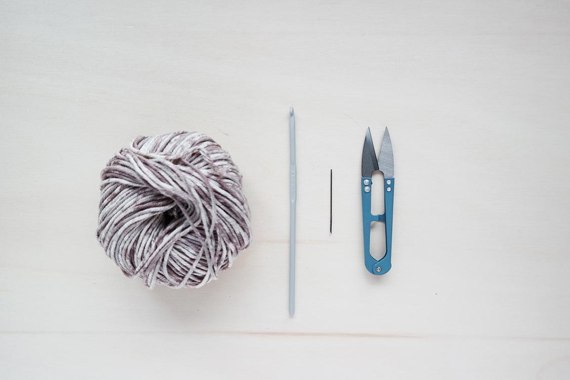 crochet eco face scrubbie diy