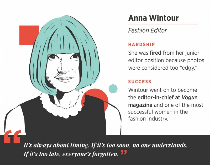 Anna wintour career success