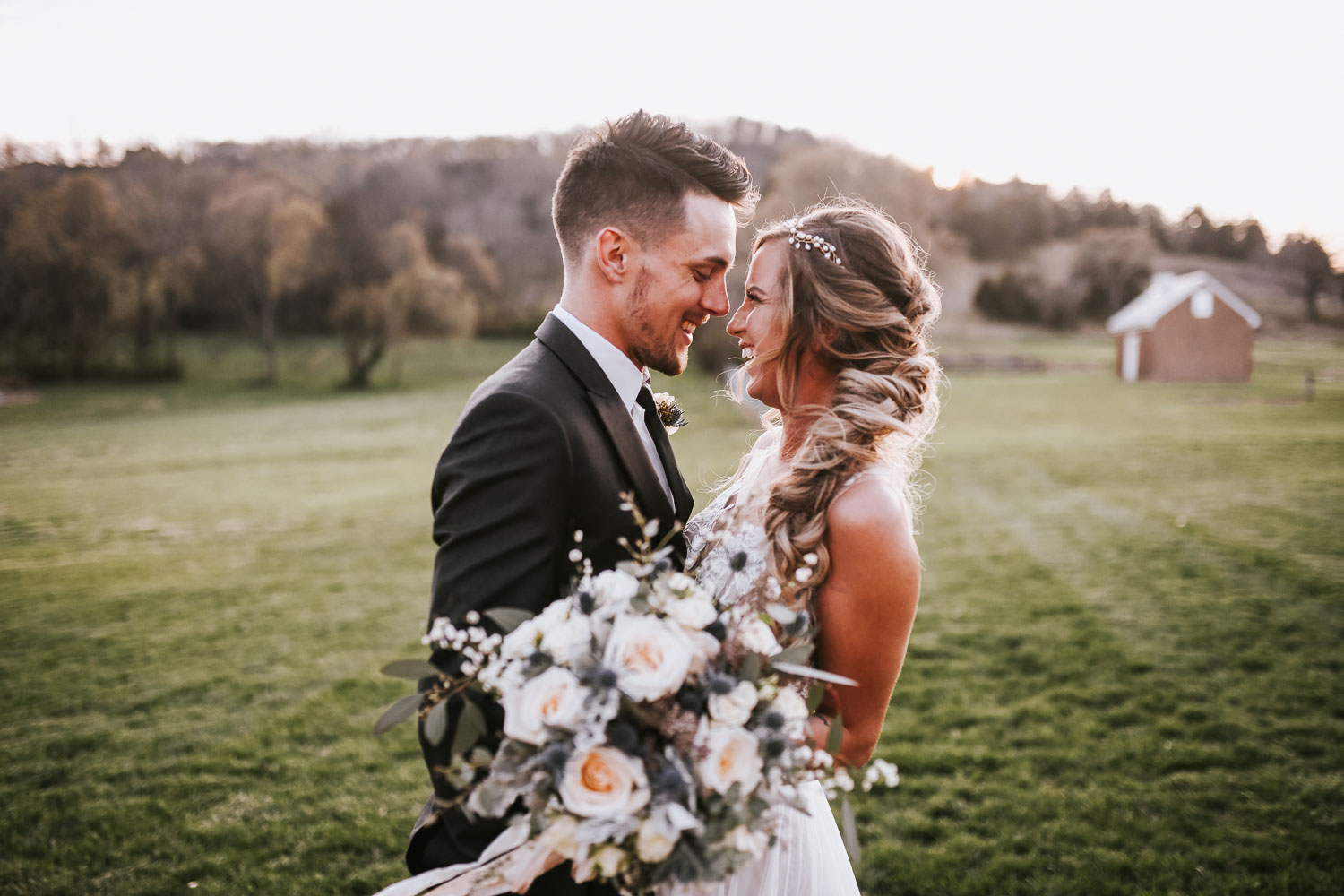 Dusty Blues & Sage Greens Wedding Inspired Shoot in Brentwood TN -