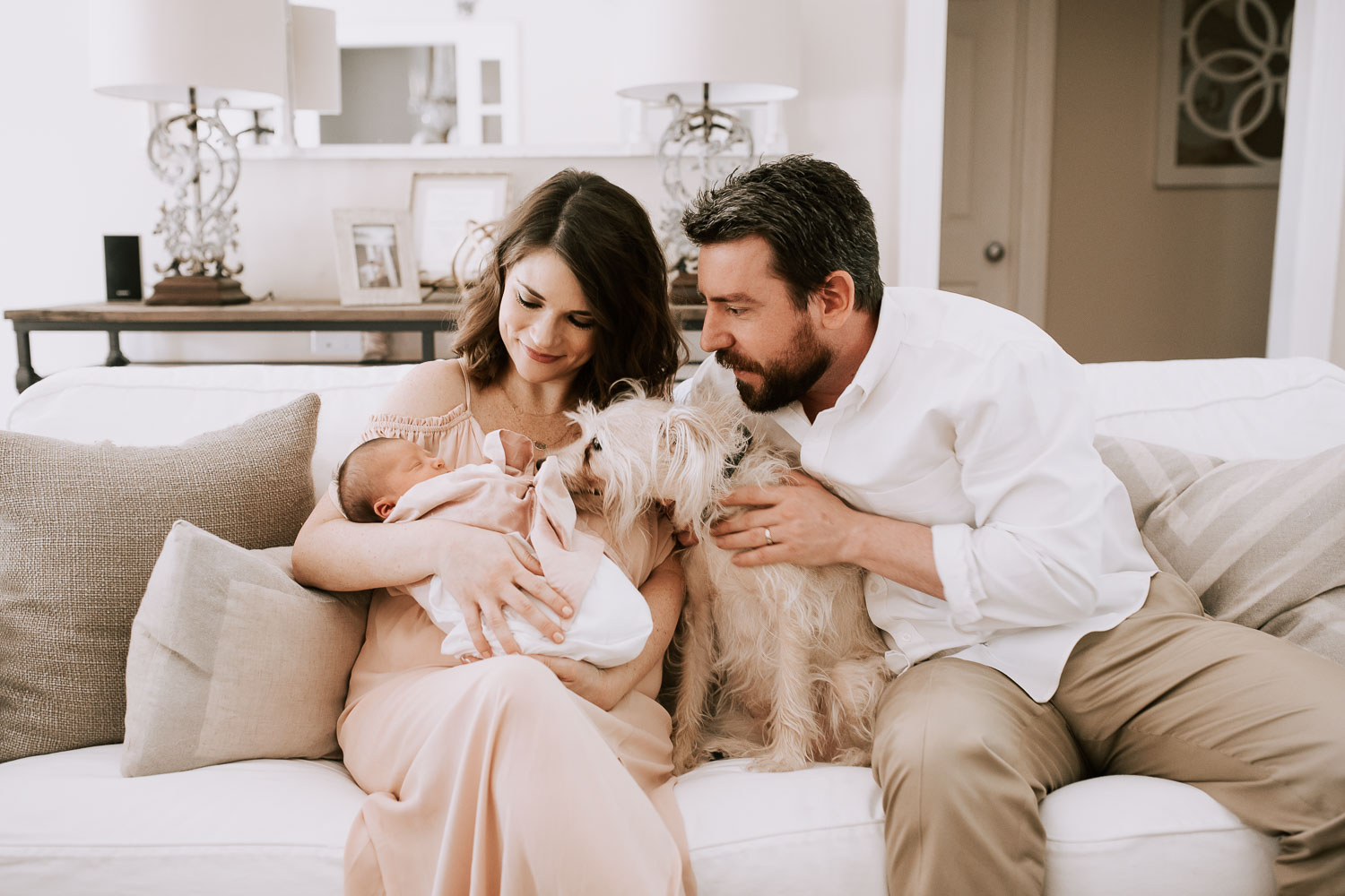 Brigette was a dream to work with! She has a bubbly personality, which is such a light during those first few hazy newborn days! She captured so many wonderful shots of our new family, including our newborn daughter, Grace, and our furry first child, Finch. I will always treasure the moments she captured of our new little family! I can't recommend her enough! - Victoria