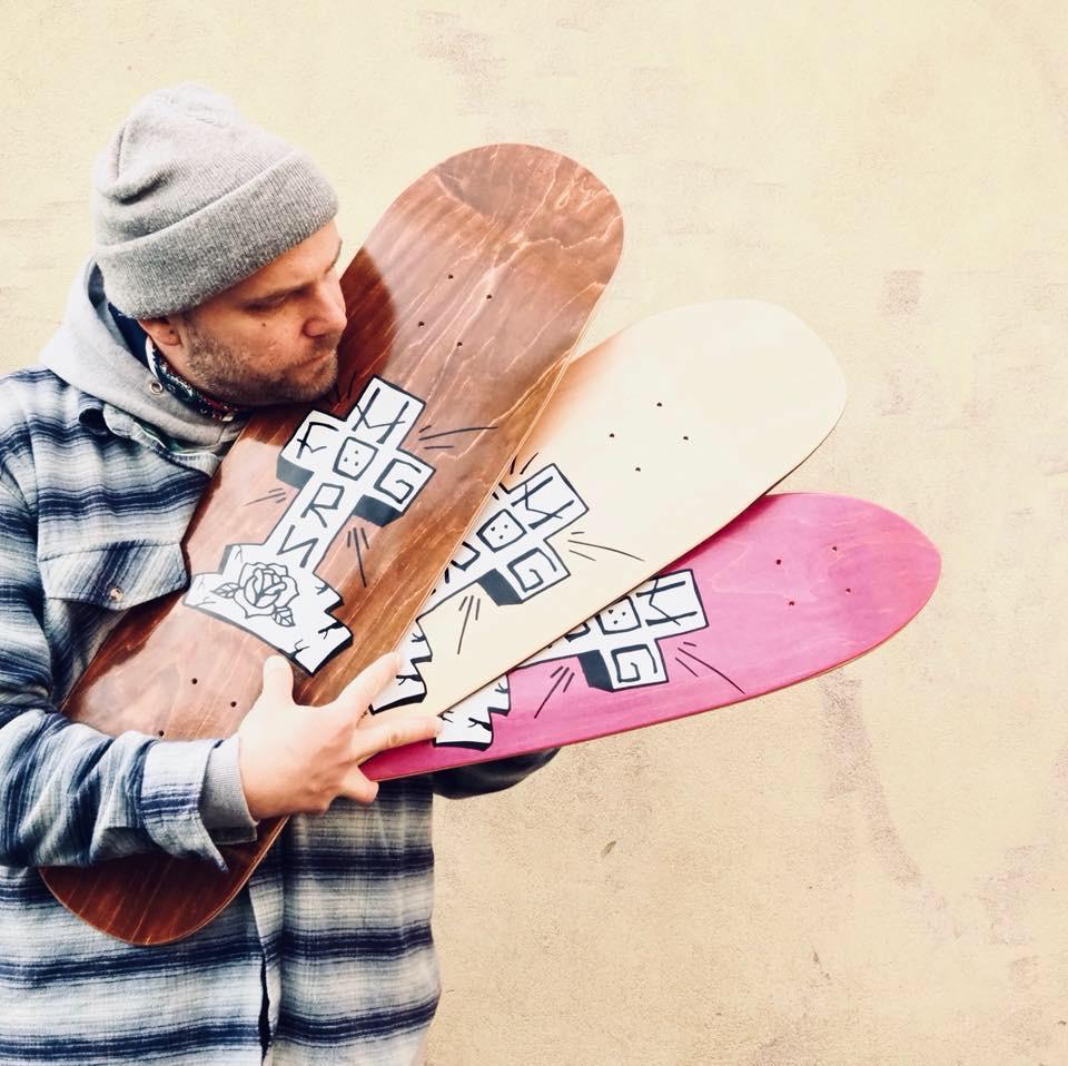 Tuomas Vuorensola & Foghorn Skateboard Decks