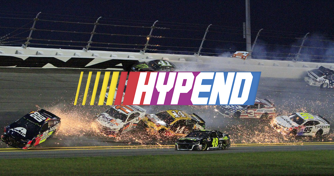 Hypend NASCAR Race  January 2019  Designed by: Miikka Marjamäki & Kasper Kasanen
