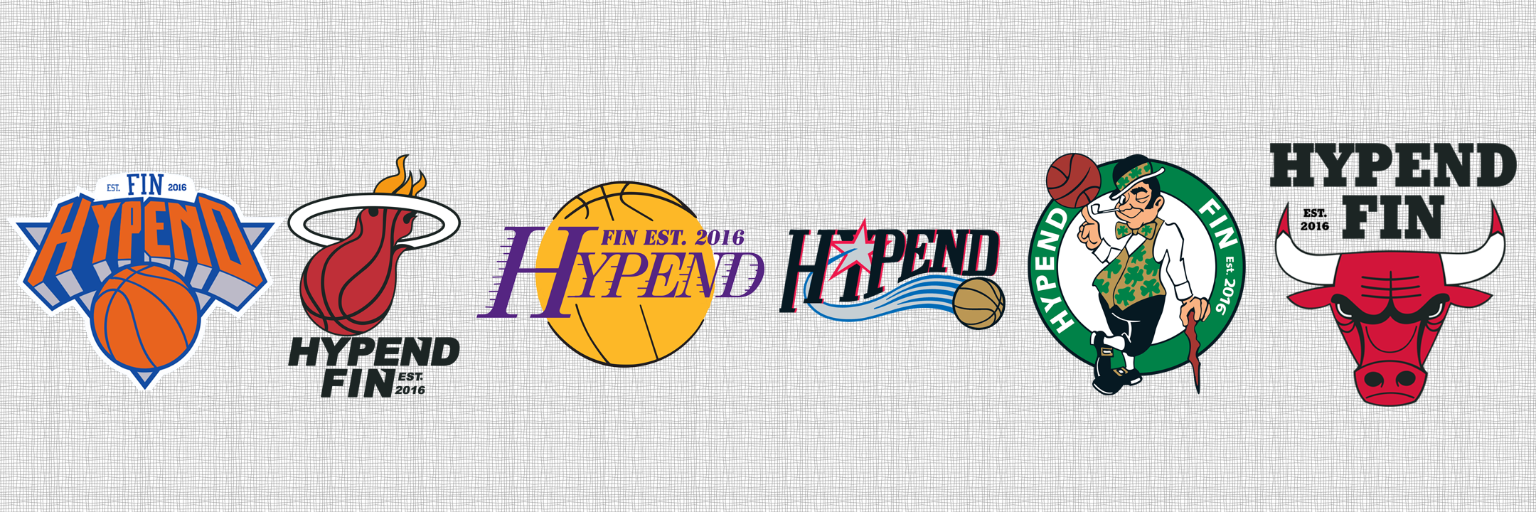 Hypend Homage for NBA  August 2016  Designed by: Miikka Marjamäki