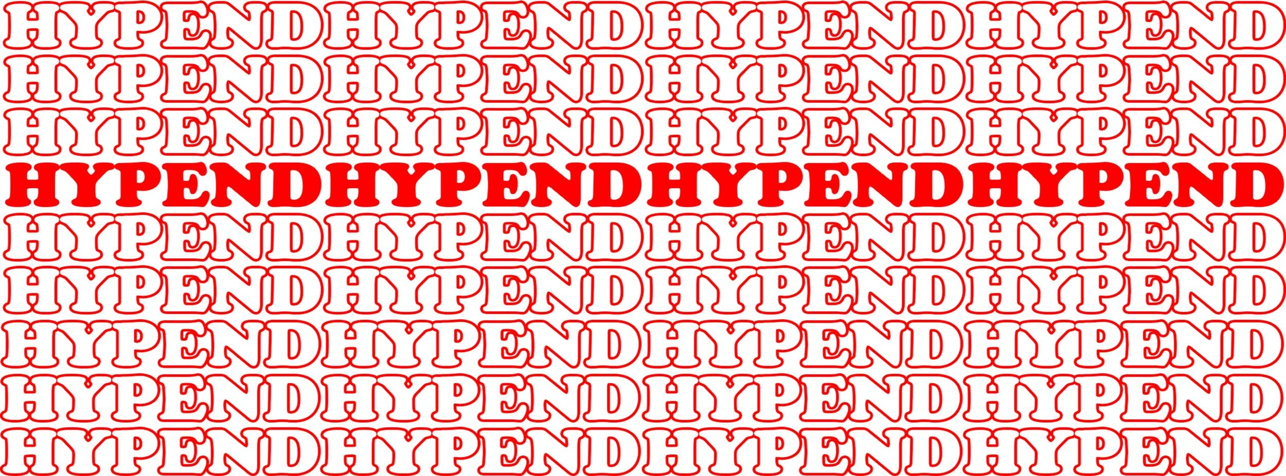 Hypend Inspired by the All Mighty Supreme  September 2017  Designed by: Miikka Marjamäki