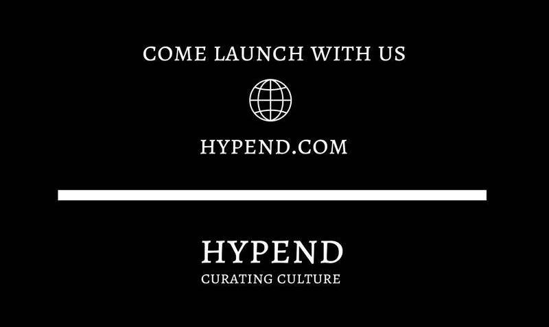 Hypend.com Website Launch Cover  April 2017  Designed by: Joel Kotivuori