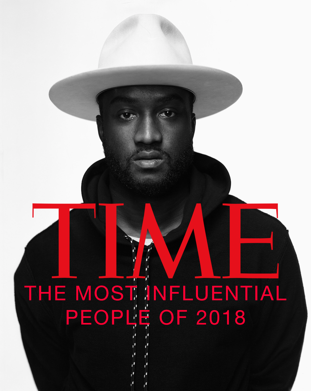 Virgil Abloh was recently featured on the TIME Magazine's The Most Influential People of 2018 List.
