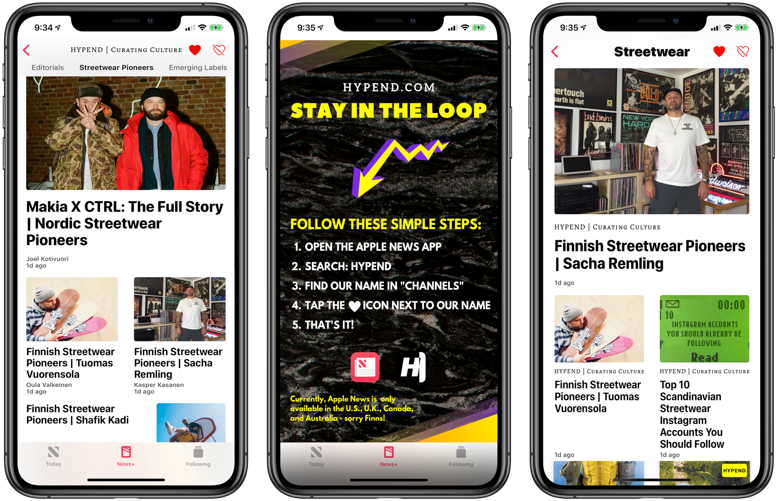 Hypend Now Available On The Apple News App | Magazine