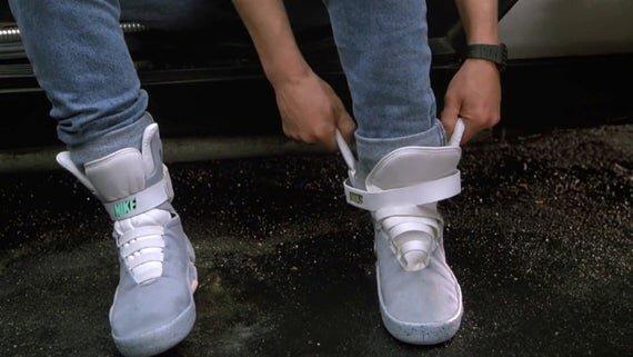 Back to the future II 1989 Sneakers Nike Air Mag