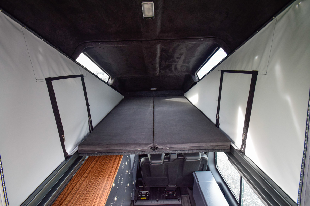 Ex-Tec Defender View-Tent Liegefläche Bettsystem