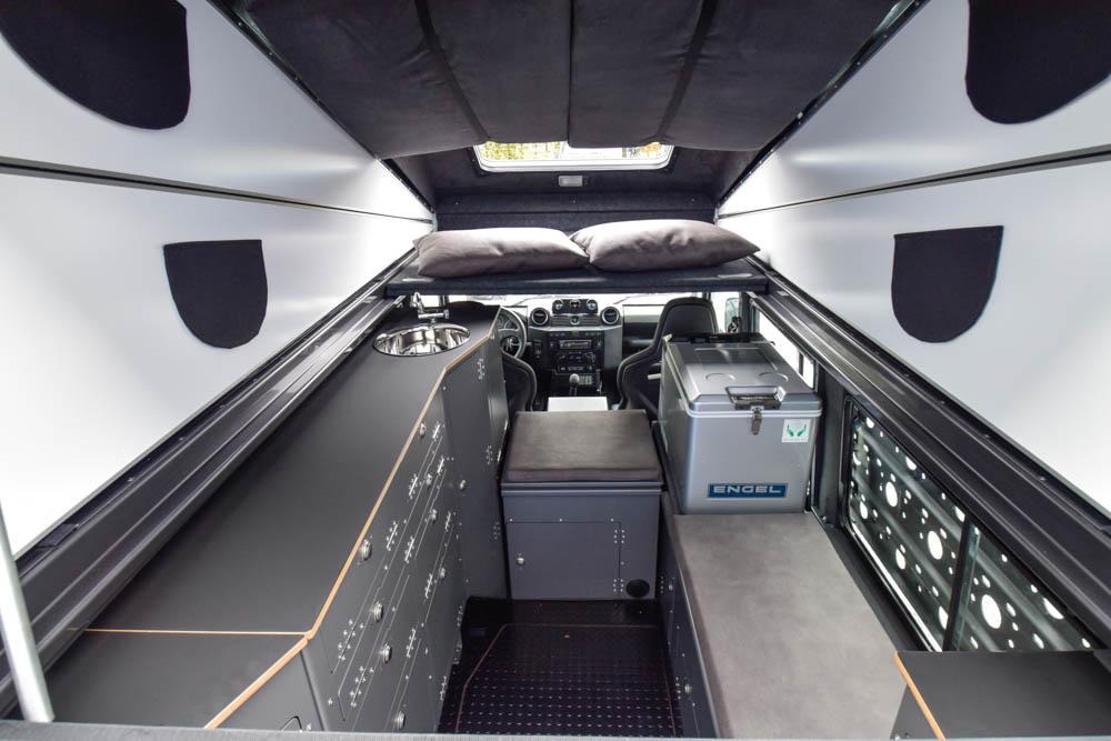 2&4-Pers.-Variante Standard XL mit ausgebauter 2. Sitzreihe