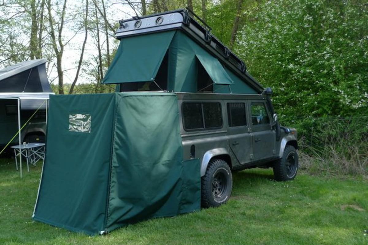 Ex-Tec Defender grün View-Tent & Heckzelt grün