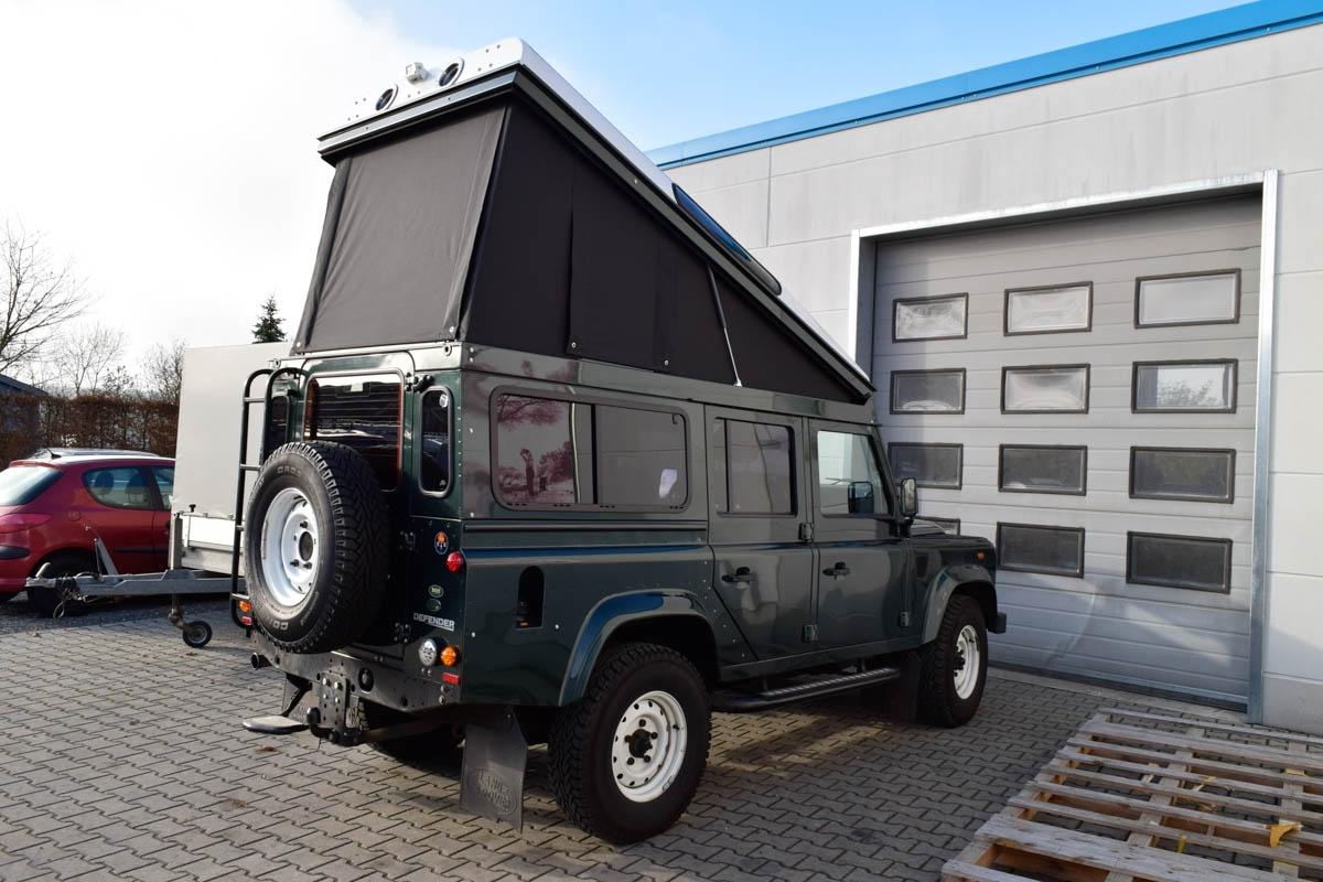 Ex-Tec Defender dunkelgrünmetallic View-Tent schwarz