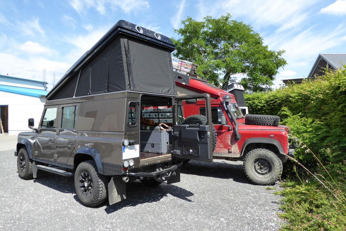 Ex-Tec Defender Rough goldbraun View-Tent schwarz