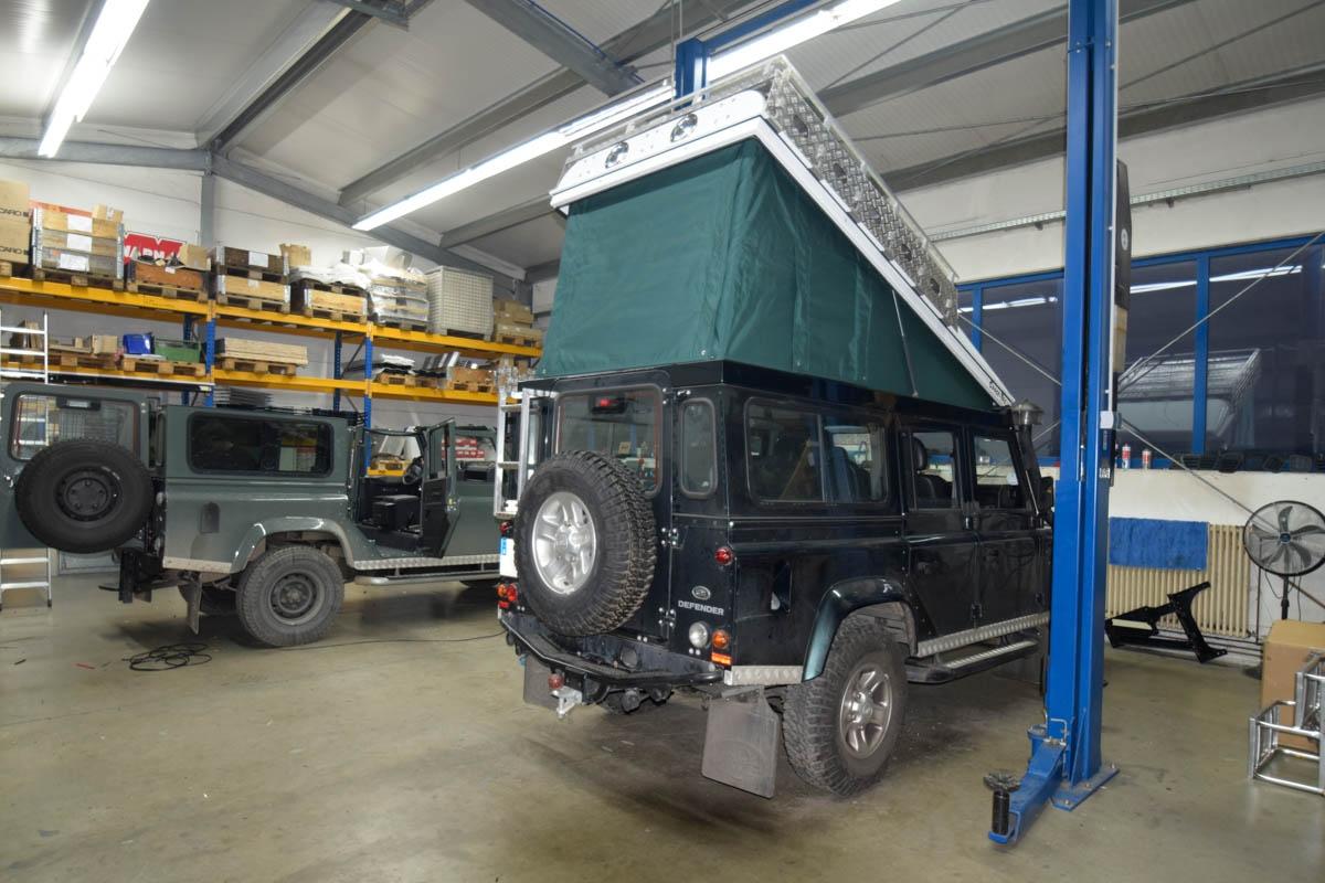 Ex-Tec Defender dunkelgrünmetallic View-Tent grün