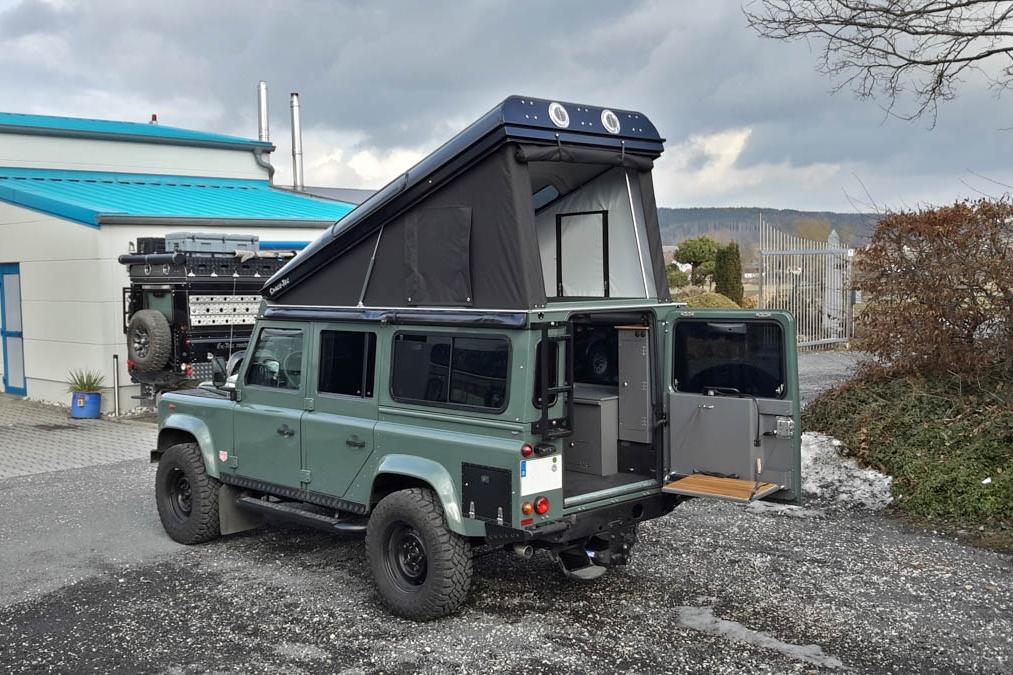 Ex-Tec Defender grün View-Tent schwarz