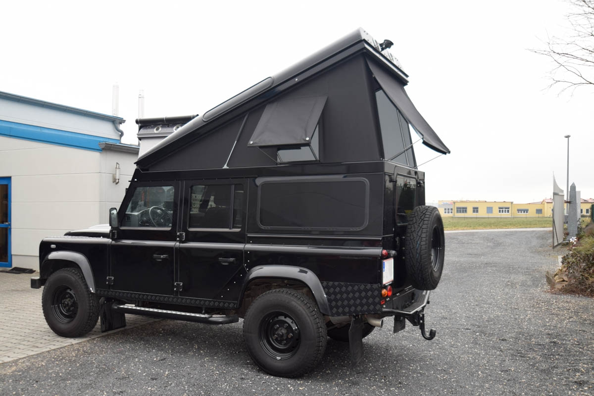 Ex-Tec Defender schwarz View-Tent schwarz