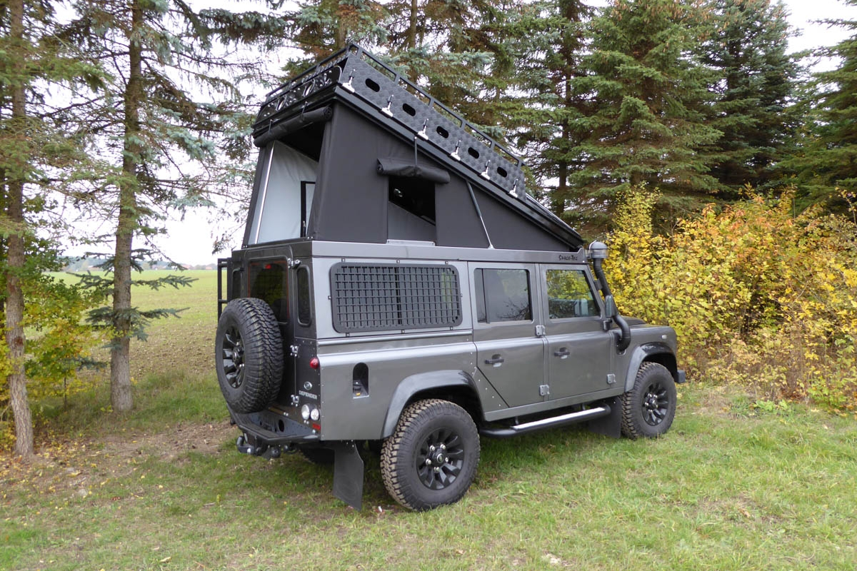 Ex-Tec Defender grau View-Tent schwarz