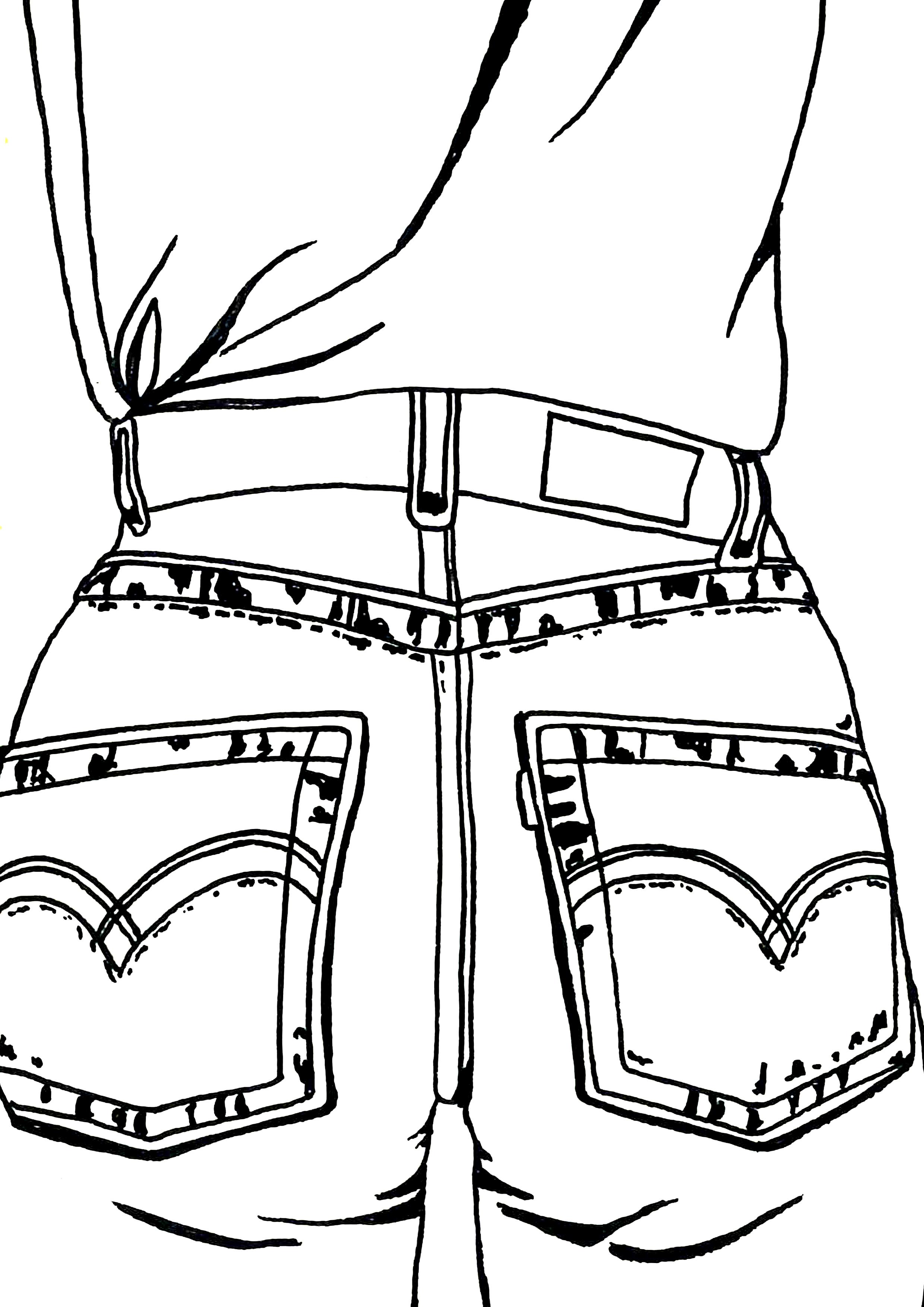 Butt  Illustration