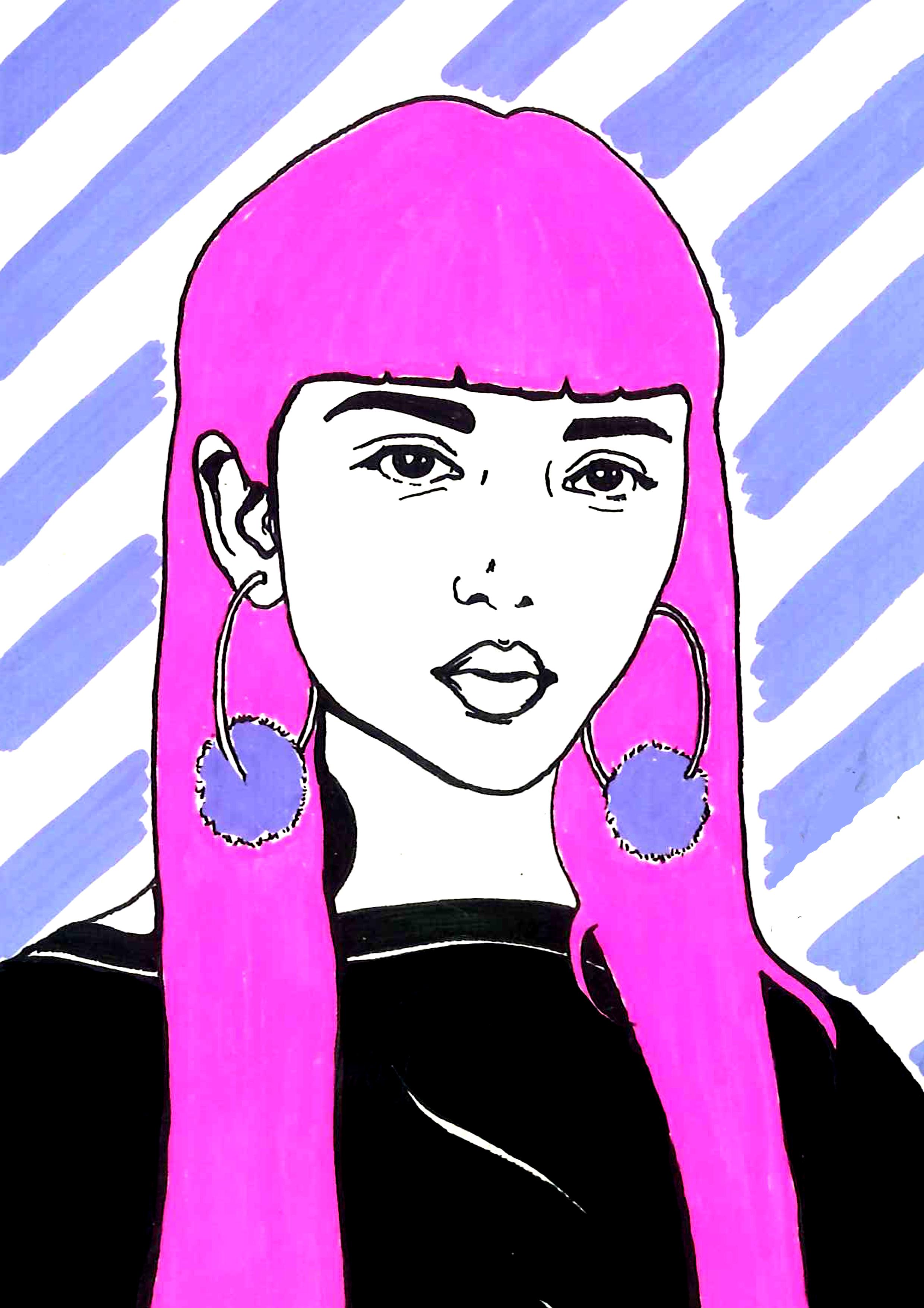 Girl crush  Illustration